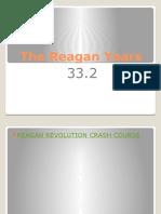 33 2 the reagan years