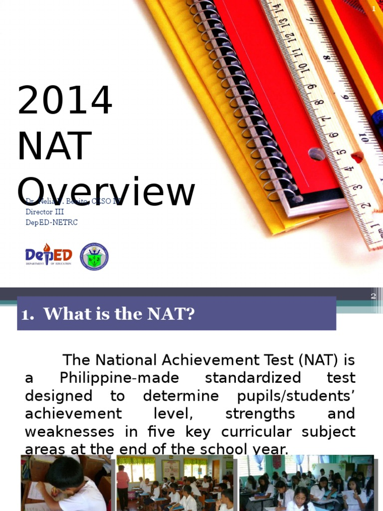 national achievement test 2014