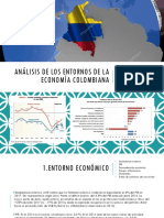 Análisis de Los Entornos de La Economía Colombiana