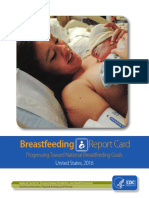 2016 Breastfeeding Report Card