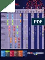 Cronograma de Partidos Del Mundial Sub 20