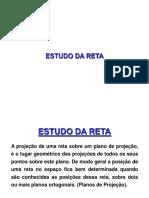 GEOMETRIA DESCRITIVA _Reta