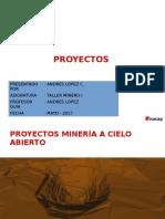 Proyectos mineria