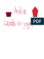 India Leads in Yoga