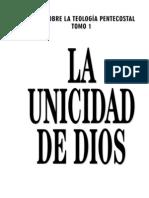 UNICIDAD DE DIOS