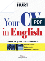 You Cv in English