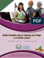 Boletin Mujeres 1er Trimestre 2015