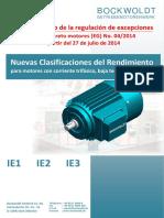 Nuevas-Clasificaciones-Del-Rendimiento Motores Trifasicos IE1 IE2 IE3