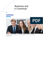 O que é Business and Executive Coaching.doc