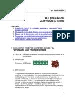 2matema2 Actividades Multiplicacion Division