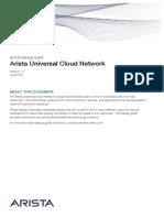 Arista Universal Cloud Network Design