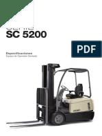 Hoja de Especificaciones Sc5200 LA