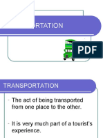 Transport and aviation