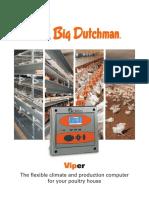 Big Dutchman Stallklima Poultry Climate Control Viper En