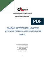 DDLHS Minor Modification 4.21.17