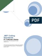 NET Coding Standards v.1.0