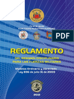 REGLAMENTO MDEL REGIMEN DISCIPLINARIO DE LAS FUERZAS MILITARES.pdf