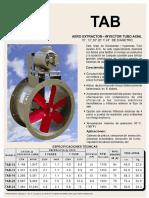 Tab Extractor Inyector Tubo Axial