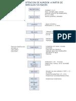 Flujograma Para La Obtencion de Almidon