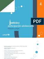 Justicia y Participación Adolescente