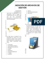 Guia Organización de Archivos de Gestión