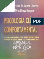 Psicologia Clínica Comportamental%2c a Inserção Da Entrevista Com Adultos e Crianças - SILVARES & GONGORA (1)