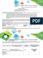 Unidad I. Fundamentos de la biología _Guía 1. Reconocer la unidad y diversidad de vida. (1)