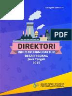 Direktori Industri Manufaktur Besar Sedang Jawa Tengah 2015(1)