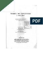 Teoria de Conjuntos y Temas Afines . Seymour Lipschutz .