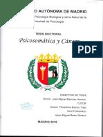Psicosomática y cáncer (Isaac Basto)