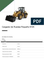 Cargador de Ruedas Pequeño 910K