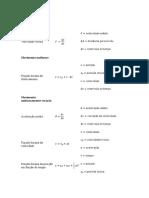 Formulas Fisica