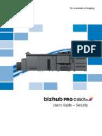 Bizhub Pro c6501e Um Security en 1 1 0