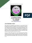 Introduction - Al-Jamiatul Ashrafia, Mubarakpur, India - Courtesy