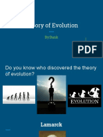 evolution pbl project individual