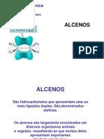 Lista de Alcenos - química orgânica