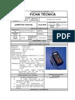 Ficha Tecnica de Potenciometro
