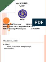Dokumen.tips Tugas Ppt Kalkulus Limit Fungsi