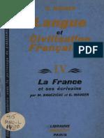 Cours de Langue et de Civilisation Françaises IV