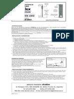 Manual Luz de Emergencia Fluorescente ATOMLUX Modelo 2028