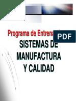 Curso Sistemas Modernos de Manufactura Diplomado Alta Dirección