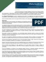 PLAN DE ESTUDIOS CIENCIAS DE LA COMUNICACION