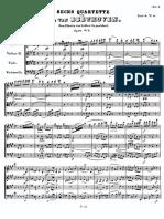 String Quartet Opus 18 No 5