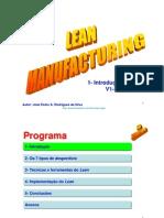 Lean Manufacturing  1-Introdução