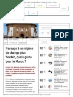 s Hange Plus Flexible, Quels Gains Pour Le Maroc _ – Lavieeco