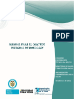Min Salud (2012) Control Integral de Roedores