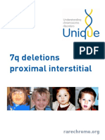 7q Deletions Proximal Interstitial FTNW