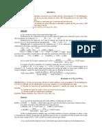 Examen resuelto de Acceso a la universidad, Quimica