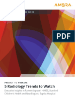 Ambra ExecBrief PredictToPrepare 5 Radiology Trends to Watch