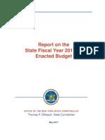 2017 18 Enacted Budget Report